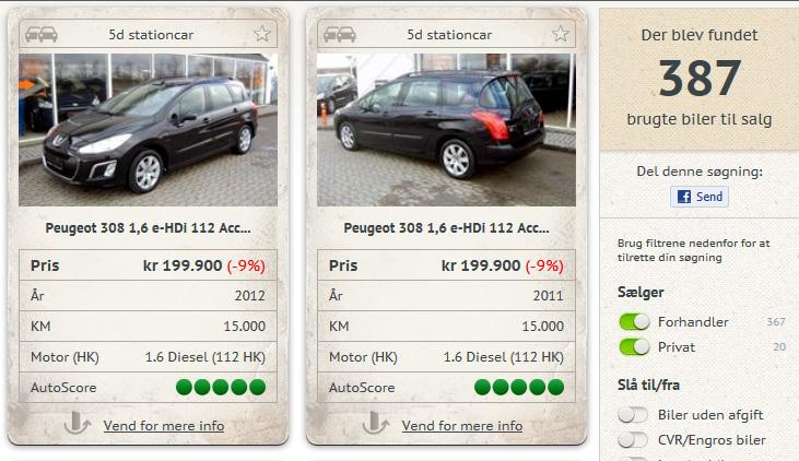 Autouncle.dk lancerer nyt værktøj, der gør det tryggere at købe