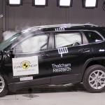 Jeep Cherokee drager nytte af Alfa-teknik og scorer topkarakter i crashtesten - det er blot 2. gang, det sker for Jeep.