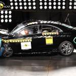 Pæletesten driller, men ellers er Mercedes CLA en solid og sikker bil.