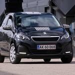 En førstegangsydelse på 0 kr. har været med til at gøre den lille Peugeot 108 til et kæmpe hit i Danmark.