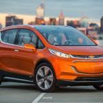 Chevrolet Bolt er en rendyrket elbil, der både skal være billig og effektiv - rækkevidden er angiveligt mere end 300 km.