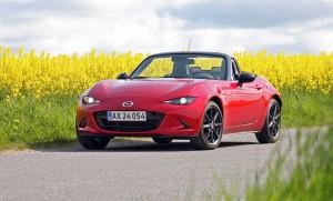 Mazda MX-5 er verdens mest solgte roadster - og byder da også på en helt fantastisk køreoplevelse til startpriser lidt over 300.000 kr.