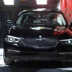 Topkarakter til topmodel: Den nye BMW 5-serie får samtlige fem stjerner i Euro NCAPs crashtest.