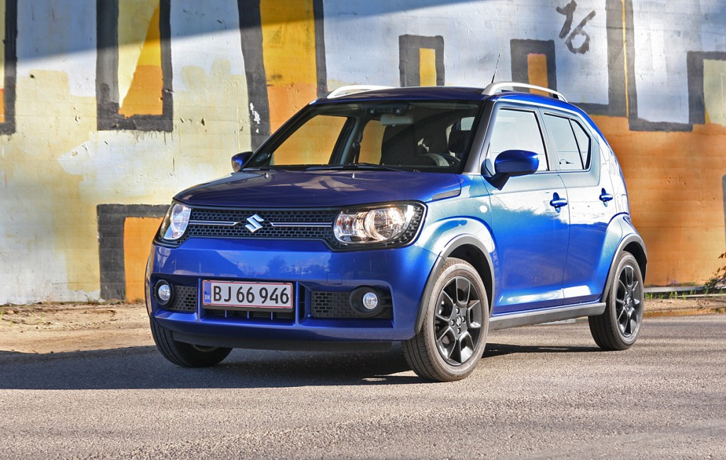 test suzuki ignis lille suv med stor charme. Black Bedroom Furniture Sets. Home Design Ideas