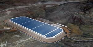 Teslas 'Giga Factory' her i Nevada bliver langt fra den sidste. Tesla planlægger op til 20 af de enorme fabrikker, der fremstiller batterier.