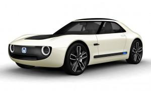 Sports EV er Hondas bud på en elektrisk sportsvogn a la Mazdas fantastiske MX-5.