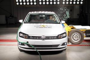 VW Polo er ikke en høj crossover, men får også topkarakter i Euro NCAPs nyeste crashtest.