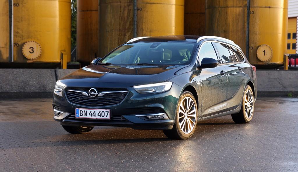 Opel Insignia er Årets Businessbil 2018 - Hvilkenbil.dk