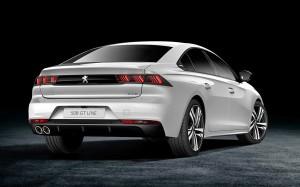 'Triple-triple' baglygter og bred og lav udstråling - Peugeot sigter efter prestigemærkerne i firmaklassen med den nye 508.