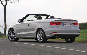 Audi A3 Cabriolet er blandt de topløse modeller, der giver meget værdi for pengene - og holder værdien godt.