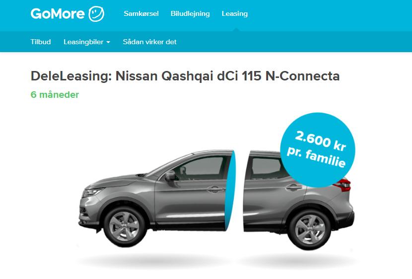 leasing af personbiler