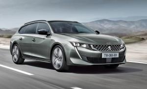 Peugeot strammer virkelig stilen med andet oplag af 508 SW. Bemærk modelbetegnelsen 508 nederst på motorhjelmen som vi kender det fra klassiske Peugeot-modeller.