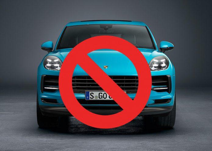 SUV-forbud