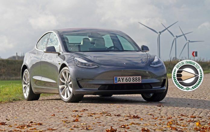 model 3 årets bil