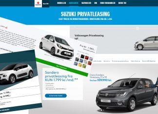 Privatleasing minibiler