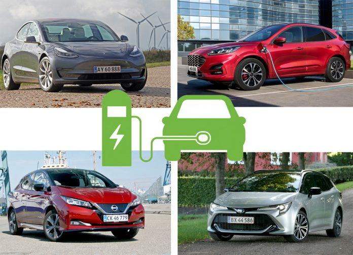 privatleasing el- og hybridbiler