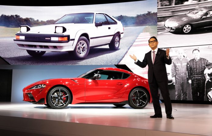 Toyota investorer